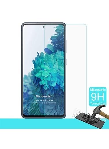 Microsonic Samsung Galaxy S20 FE Tempered Glass Cam Ekran Koruyucu Renksiz